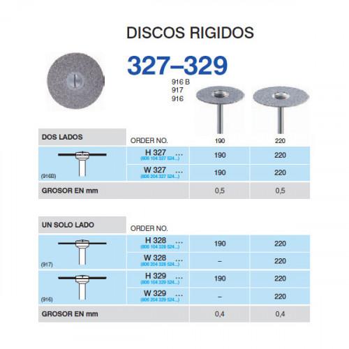 H329-220 PM DISCO DIAM.RIGIDO