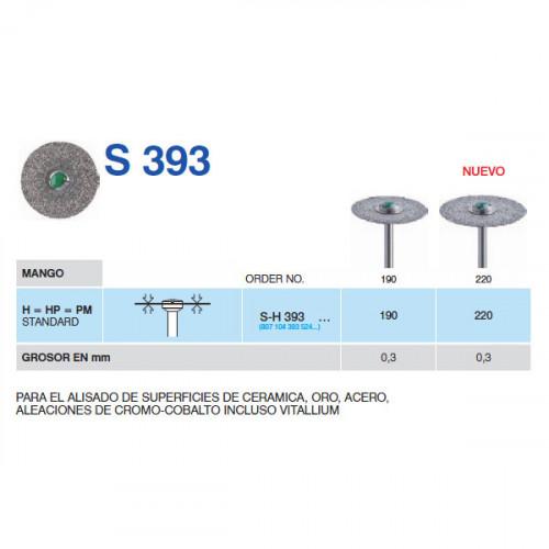 SH393-190 PM DISCO DIAM.MACIZO