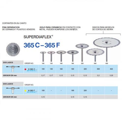H365F-190 PM DISC.DIAM.SUPERFL