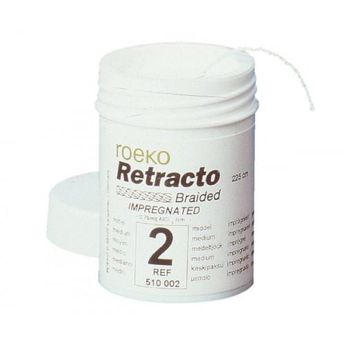RETRACTO HILO DE RETRACC. Nş2 MEDIO 225mm.