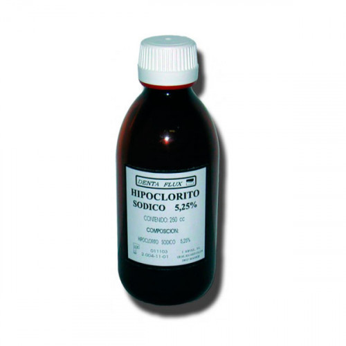 HIPOCLORITO SODICO 5,25% 250ml.