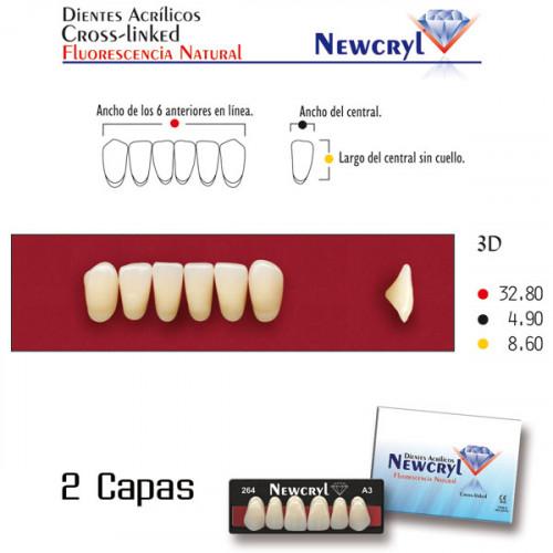 DIENTES NEWCRYL-VITA 3N LO A3