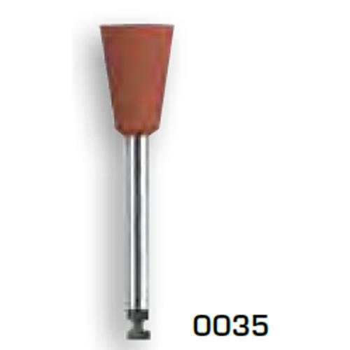 0035 ALPHAFLEX PULIDO TAZA MARRON  (EDENTA)