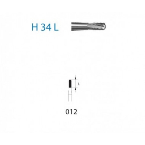 H34L-012 FRESA FG C.TUNGS.CCA. CORT. CORONAS 5ud