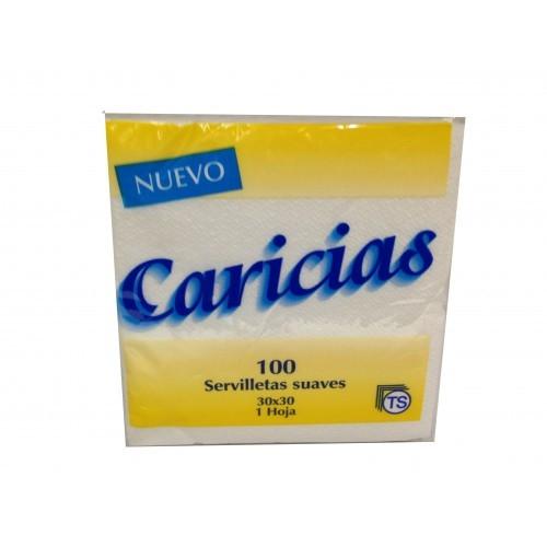SERVILLETAS CARICIAS 30X30